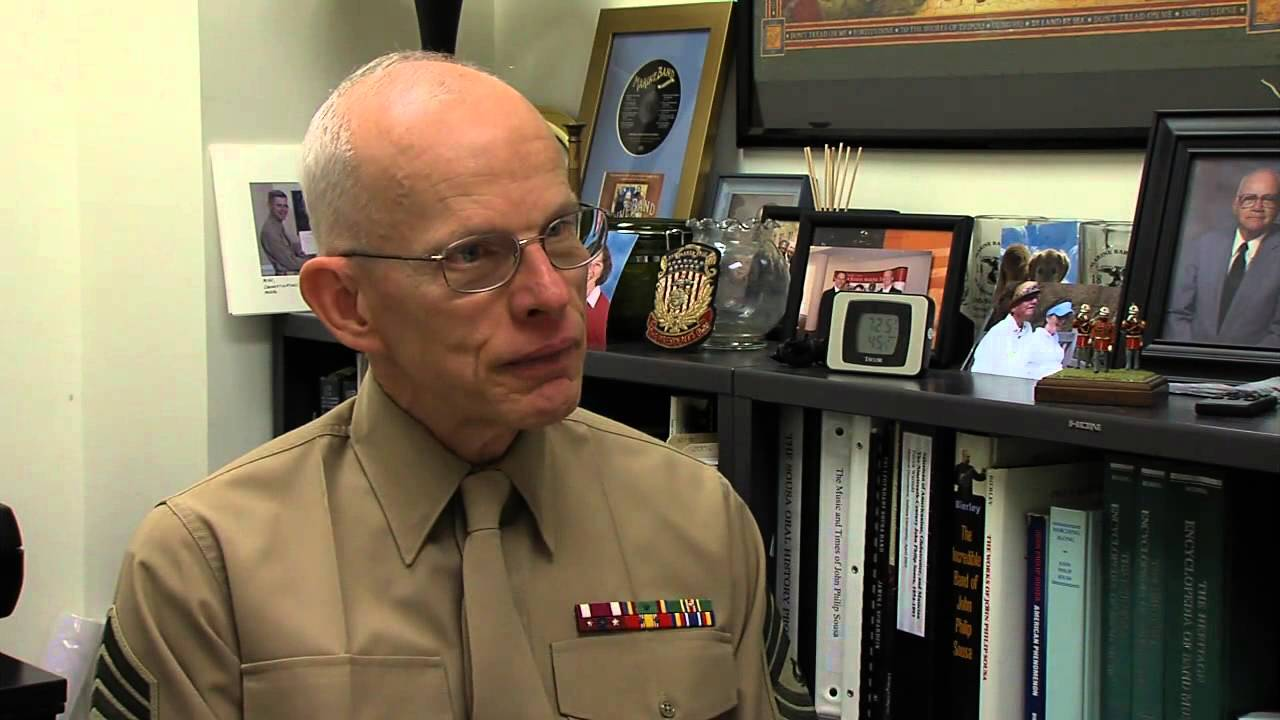 MGySgt Michael Ressler Talks About Inaugural History - YouTube