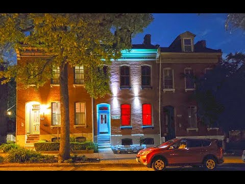 Designer Luxury Soulard Row House Residence- New Renovation Construction For Sale In Saint Louis MO