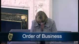 Senator Jillian van Turnhout - Order of Business - St. Patrick