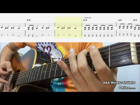Trinity Rock & Pop Initial Guitar - Black Betty Song Play Lesson With Guitar Tabs