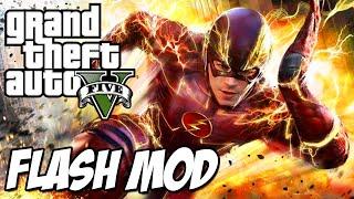 FLASH MOD!! - GTA 5 PC (Süper Hız Mod)