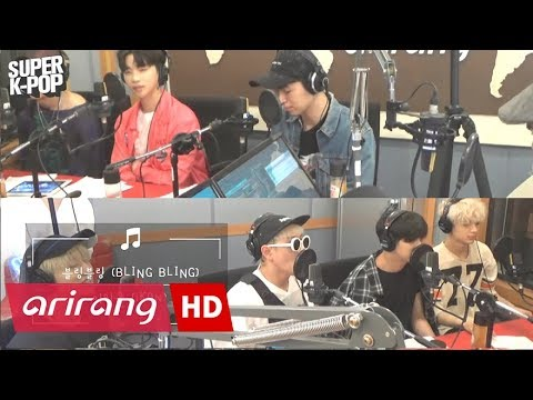 Super K-Pop iKON 아이콘 & BLING BLING 블링블링  Arirang Radio