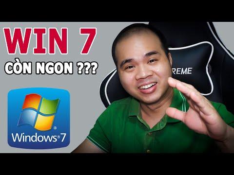 Cài Win 7 năm 2021 Full A-Z và Test Driver tự động xem NTN