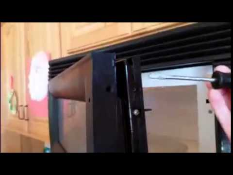 Replacing The Door Handle On An Estate By Whirlpool Microwave You