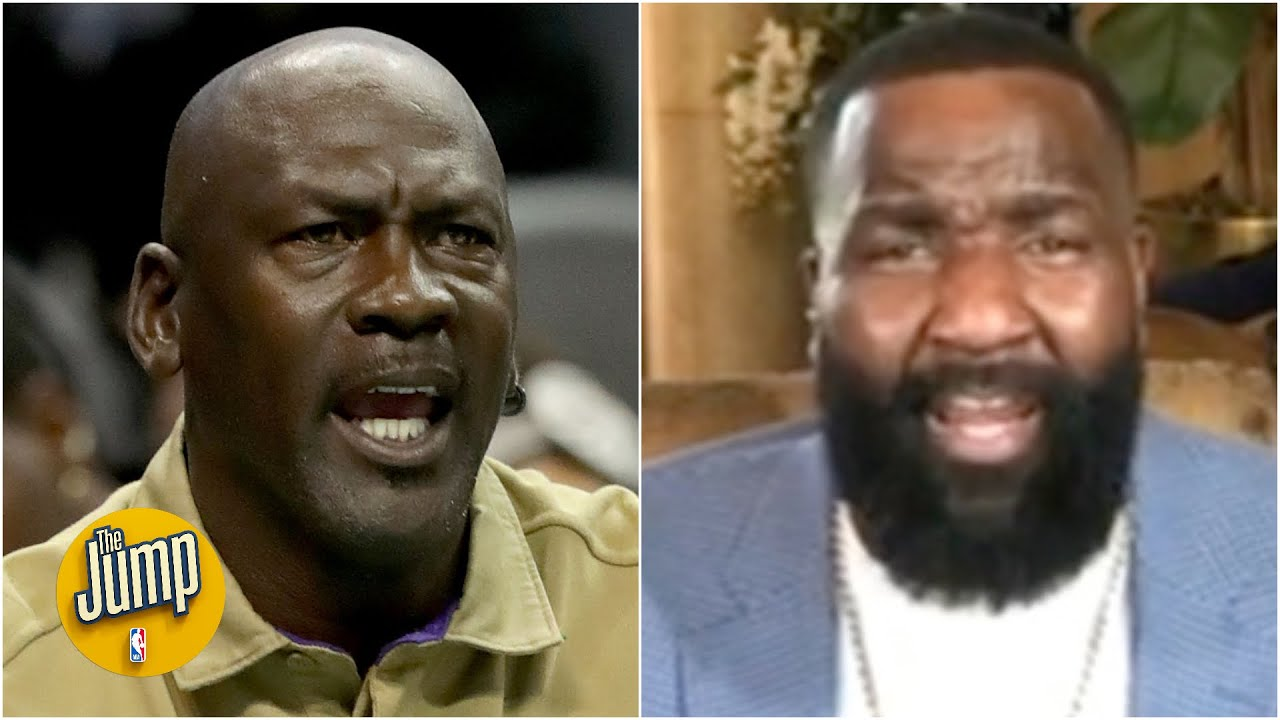 Kendrick Perkins isn't buying Michael Jordan's