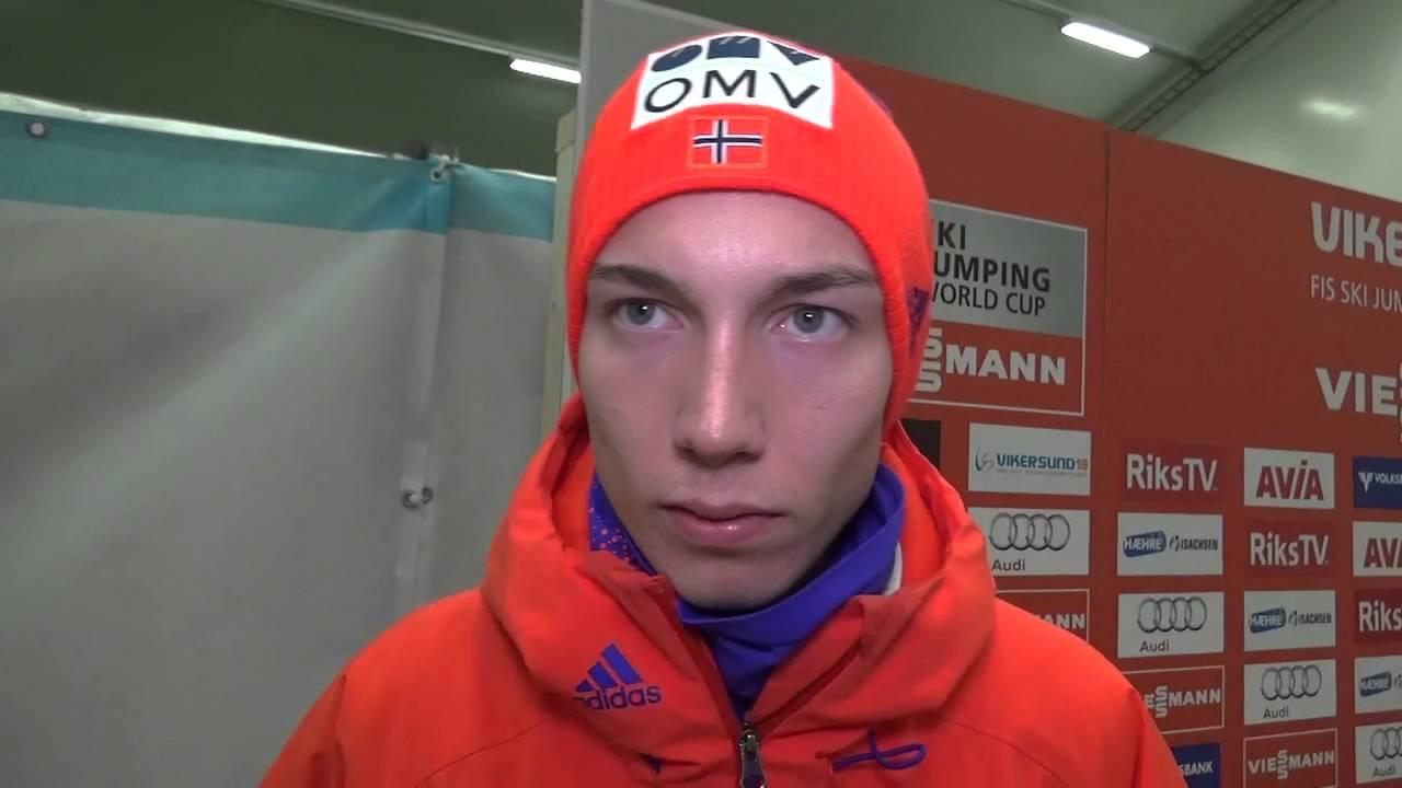 Johann andre forfang in vikersund