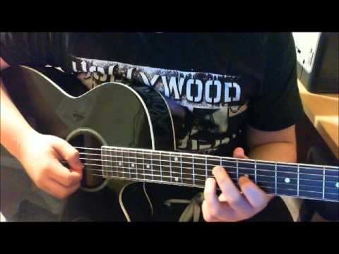 How to play Surrender Intro by Billy Talent