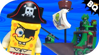 Lego Spongebob Squarepants Flying Dutchman 3817 Flash Speed Build