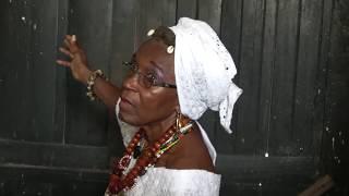 The Door of Return at Cape Coast Holocaust Dungeons - Ghana Nov 2017 Tour