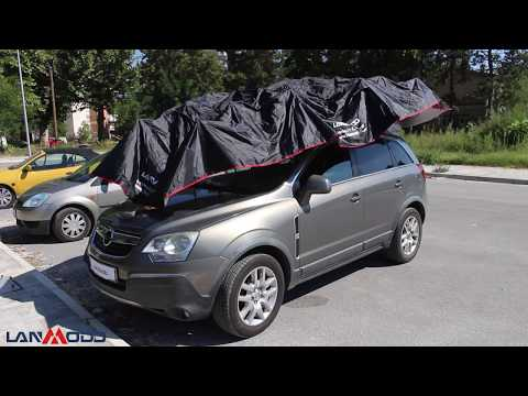 Automatic Weatherproof Car Tent by Lanmodo