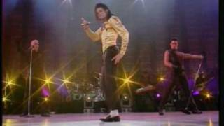 Michael Jackson Wanna be Starting Something live bucharest 92