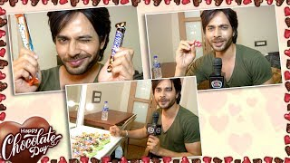 Ansh Bagri Celebrates Chocolate Day With TellyMasala | Valentine Special