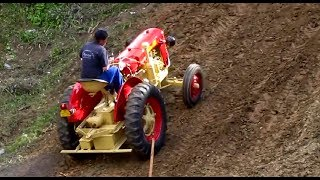 Dangerous Tractor EXTREME HILL CLIMB !