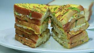 ബ്രെഡ് കൊണ്ട് മറ്റൊരു Spicy Snack / Breakfast || Very simple 👌 Tasty || Recipe : 200
