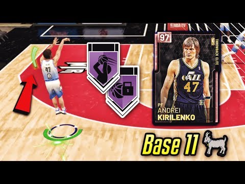 2k upgraded the BEST BASE 11 CARD and made it a pink diamond with 7 hof badges in nba 2k19 myteam...
