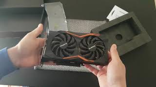 Gigabyte GeForce GTX 1050 Ti G1 Gaming 4G Unboxing Review