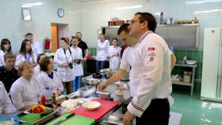 Мастер класс «Приготовление десертов, оригинальных блюд и закусок»