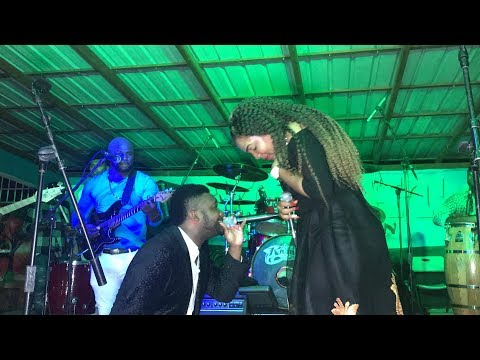 TI LUNETTE WITH KADO LIVE POWER OF LOVE @ L'ASILE 2 JANVIER 2017