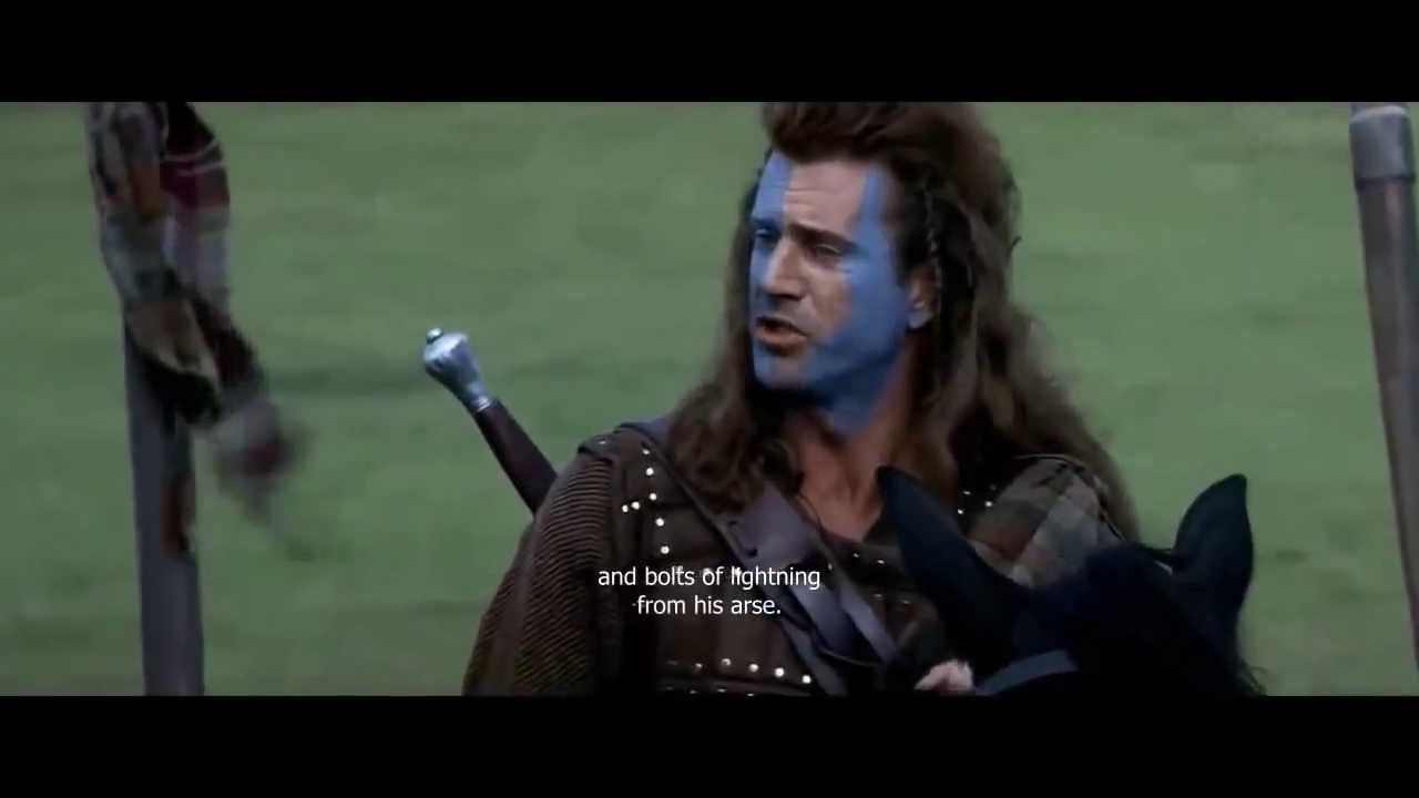 Braveheart Quote | Every man dies, not every man really ...