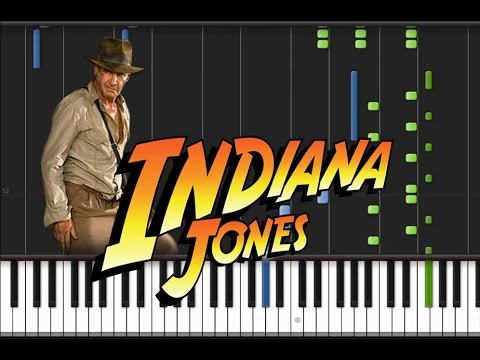 Indiana Jones - Main Theme [Piano Tutorial] (♫)