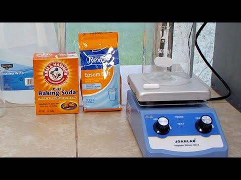 Make Magnesium Carbonate From Epsom Salt And Baking Soda