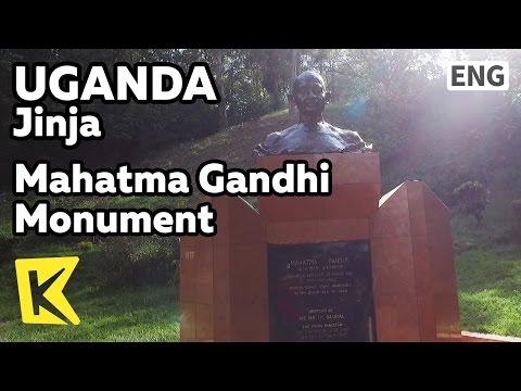 【K】Uganda Travel-Jinja[Uganda 여행-진자]진자에서 만난 간디/Mahatma Gandhi Monument/Nile/River/Bronze statue