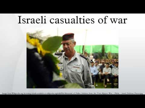 Israeli casualties of war