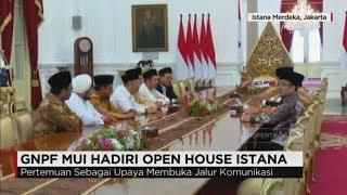 GNPF MUI Hadiri Open House Istana Bertemu Presiden Jokowi, Ada Apa? - Idul Fitri 2017