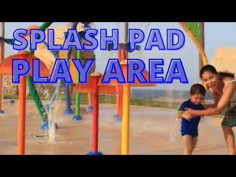 The Splash-Pad Play-Area at Shangri-La Resort, Muscat, Oman