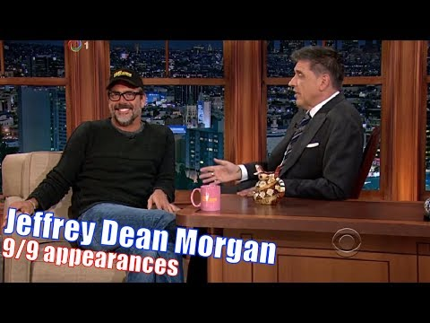 Jeffrey Dean Morgan  Negan From The Walking Dead  99 Appearances with Craig Ferguson  240720p