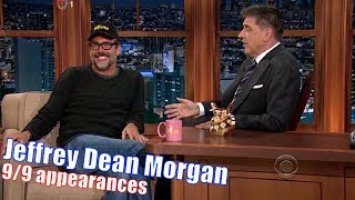 Jeffrey Dean Morgan - Negan From The Walking Dead - 9/9 Appearances with Craig Ferguson  [240-720p]