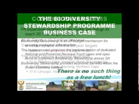 D3S19L3 Willeen Olivier The SA National Biodiversity Stewardship programme - progress and challenges