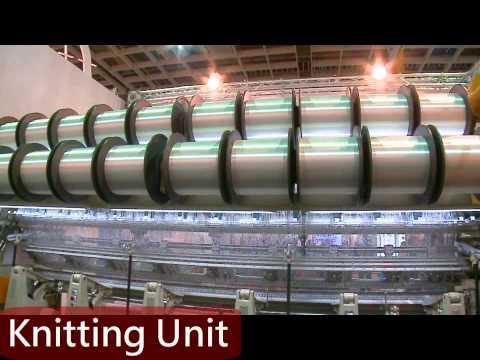 Fish Net Making Machine