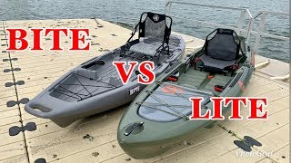 Jackson Bite VS Crescent Lite Tackle: On Water Comparison Revew