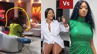 Bbnaija Reunion:Kimoprah Vs Tacha| Someone tries to get physical with Ebuka??🙀🙀