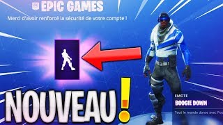 "SEE THE DANSE ""Boogie Down"" FREE ON FORTNITE: BATTLE ROYALE!"