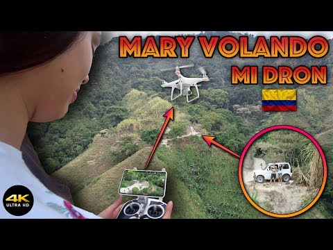 "Mary Vuela Mi Dron (Problemas De GPS??) ""Phantom4 Pro"" 4K/DronePilot"