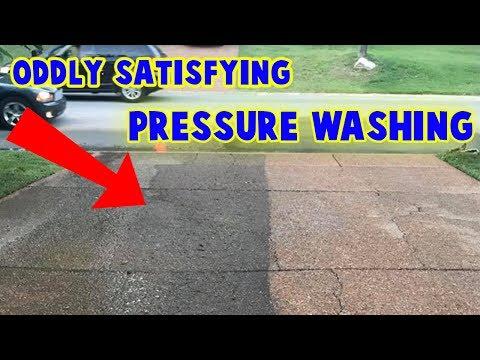 Oddly Satisfying PRESSURE WASHING Video Compilation!