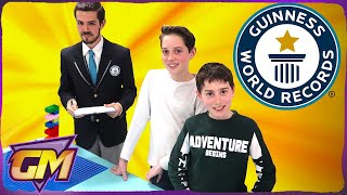 Guinness World Records Attempts in London!! - Fastest Lego Tower! (Family Vlog)