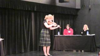 Meredith Hudock 2015 2nd place U.S. National Scottish Fiddle Championships.