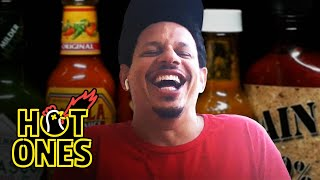 Eric Andre Enters a Fugue State While Eating Spicy Wings | Hot Ones