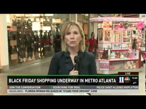112913 Nbc Atlanta Company Black Friday At Lenox Square