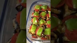 Грибы в баклажанах .Любимый рецепт от Ретро Кухни. Мультигриль Delonghi CGH1012D