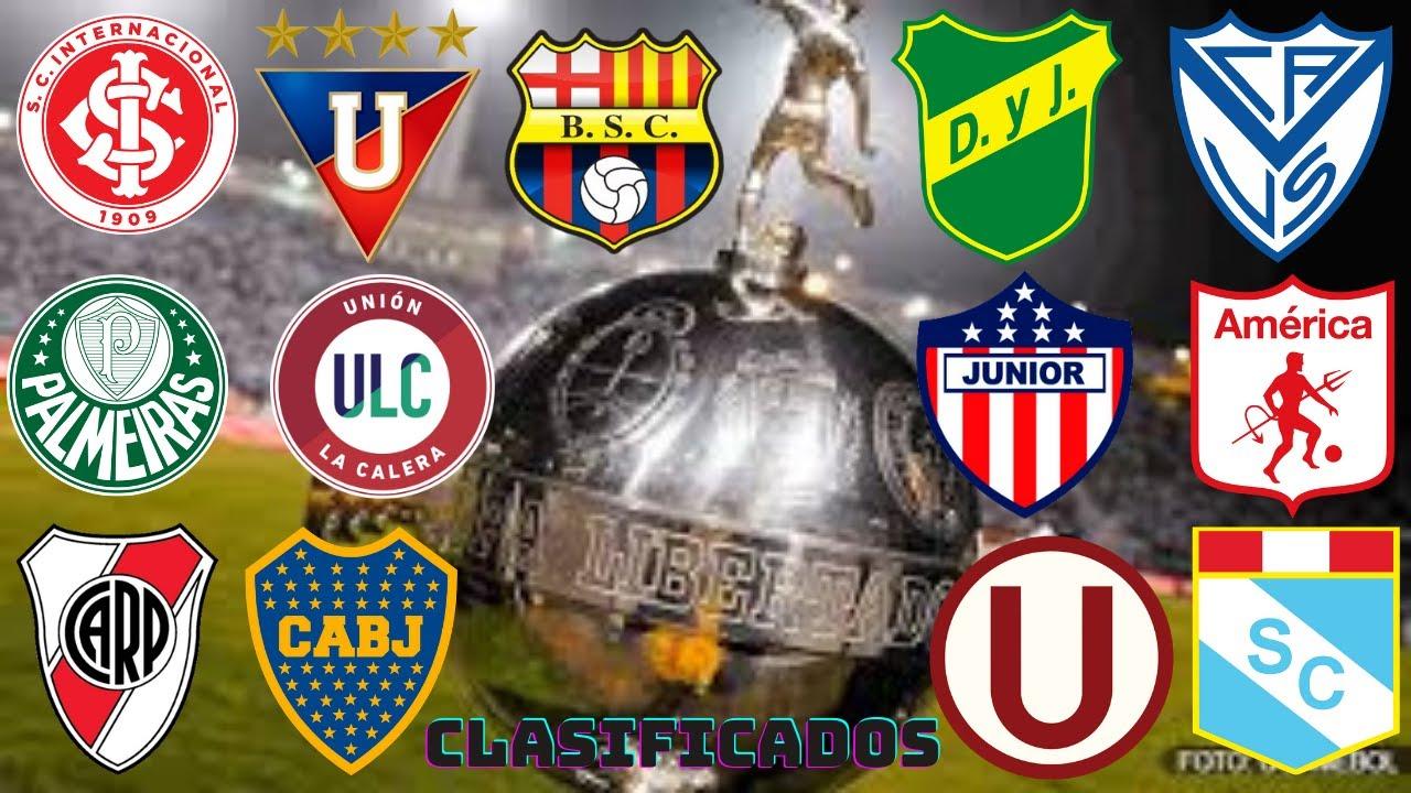 TODOS LOS CLUBES CLASIFICADOS A LA COPA LIBERTADORES 2021 - YouTube