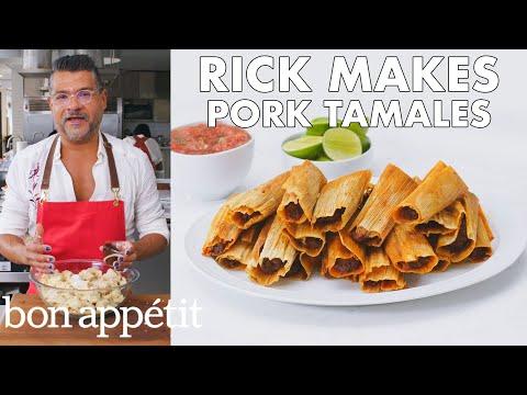 Rick Makes Pork Tamales | From the Test Kitchen | Bon Appétit
