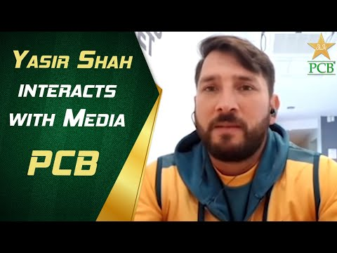 Yasir Shah interacts with Media | PCB