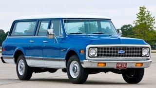 Chevrolet Suburban 1972, first drive