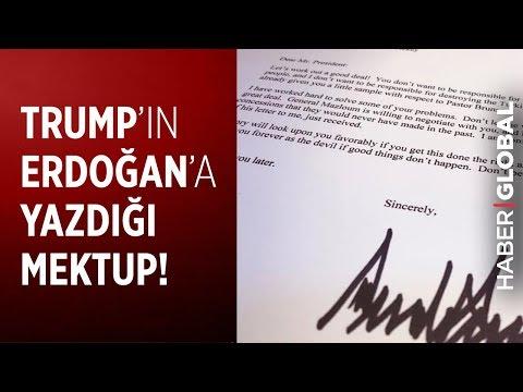 Trump'ın Erdoğan'a Yazdığı Mektup'ta Neler Yazıyor?  İşte Ciddiye Alınmayan Skandal Mektup!