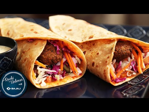 Lebanese Falafel Wrap | Easy To Make Wrap Recipe | Ruchi Unboxes With Bajaj Electricals