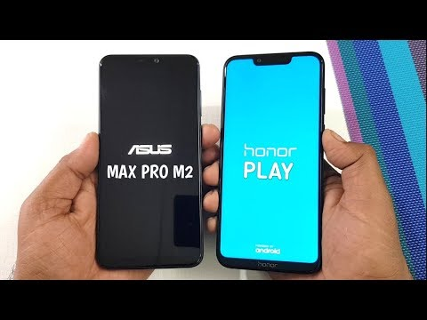 Asus Zenfone Max Pro M2 vs Honor Play Speed Test & Ram Management